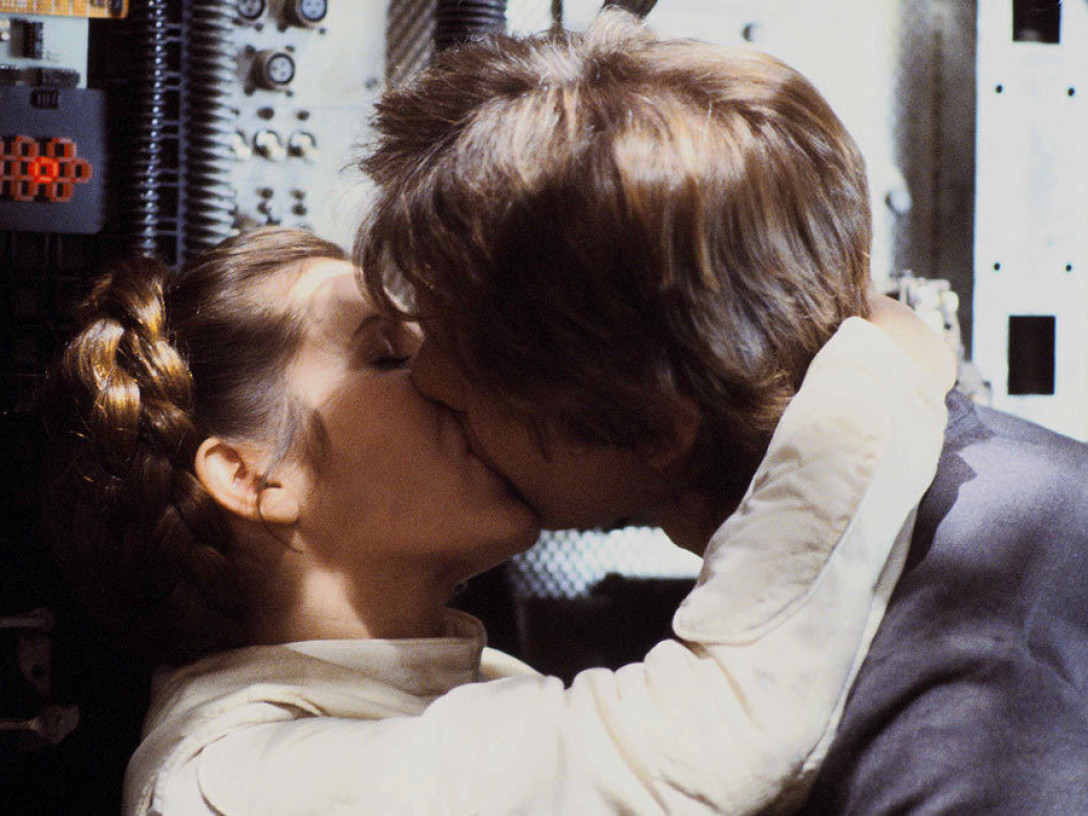 The Empire Strikes Back - Han and Leia