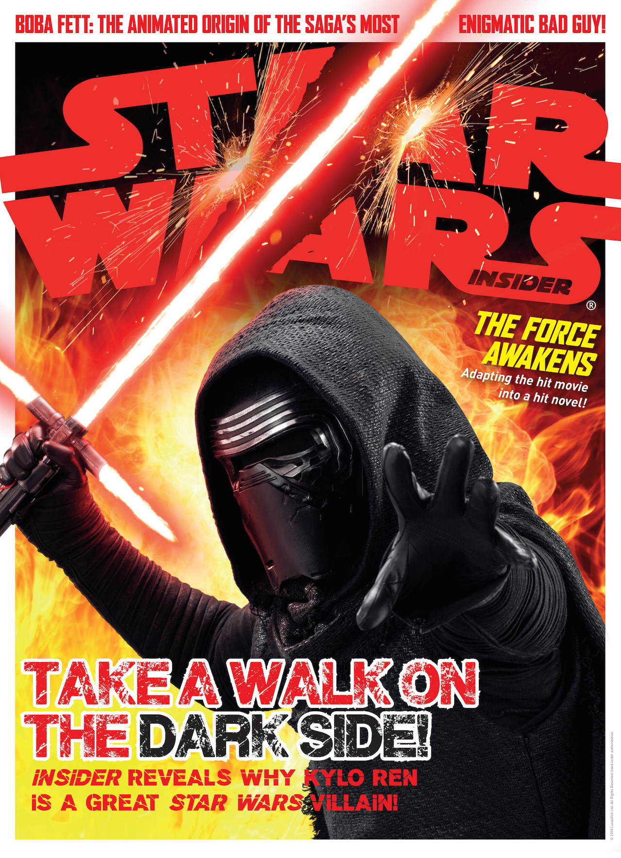 Star Wars Insider #164 Kylo Ren Cover