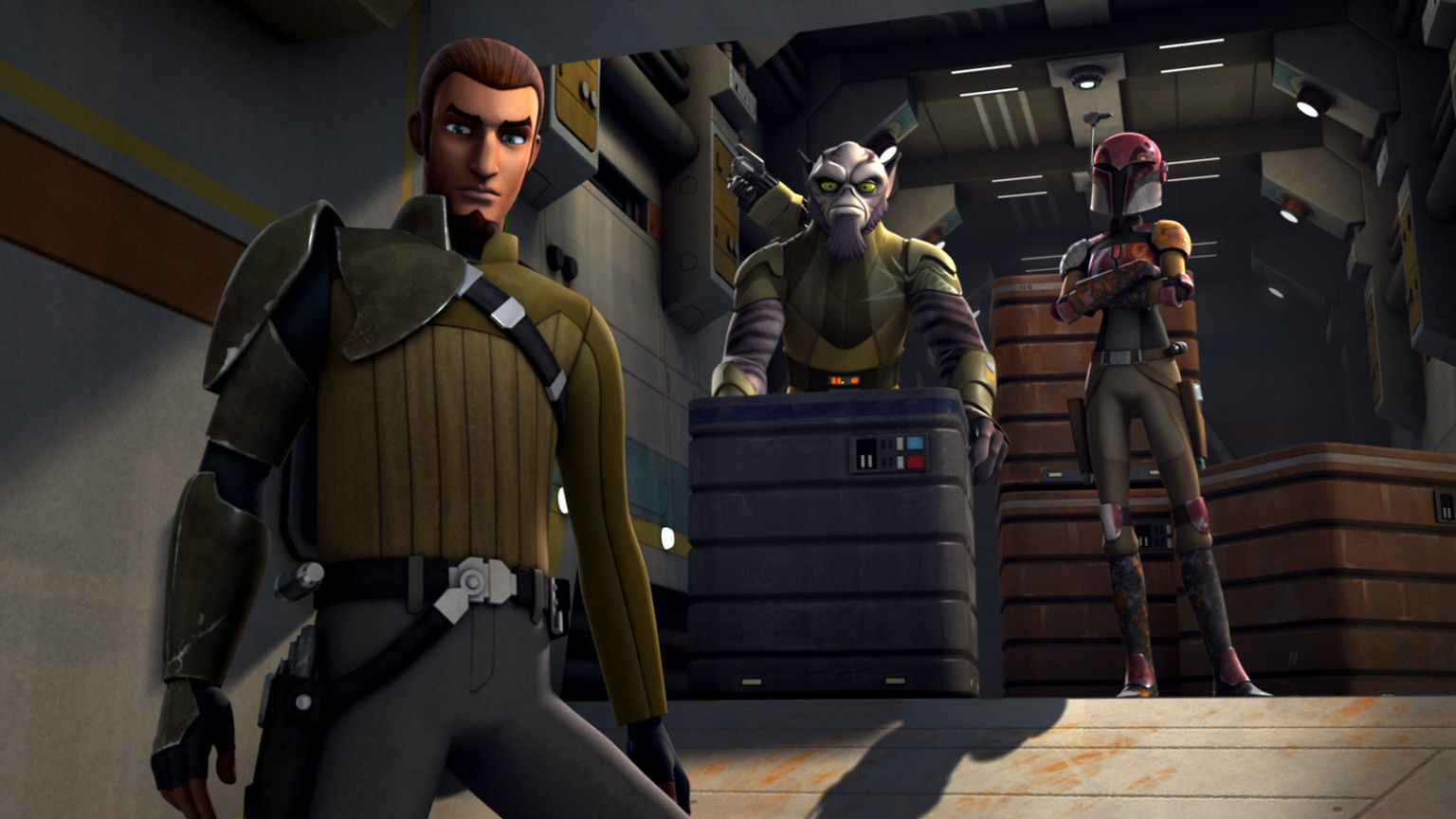 Star Wars Rebels - Kanan, Zeb, and Sabine