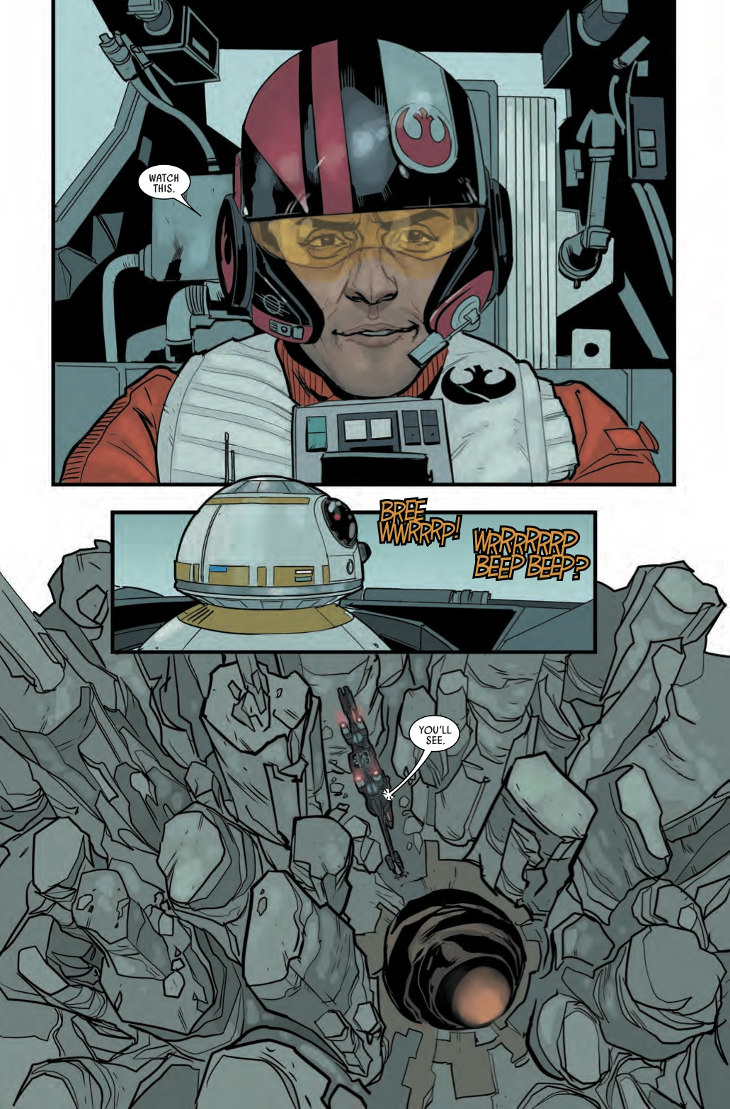 Go Inside Star Wars: Poe Dameron #1 with Artist Phil Noto