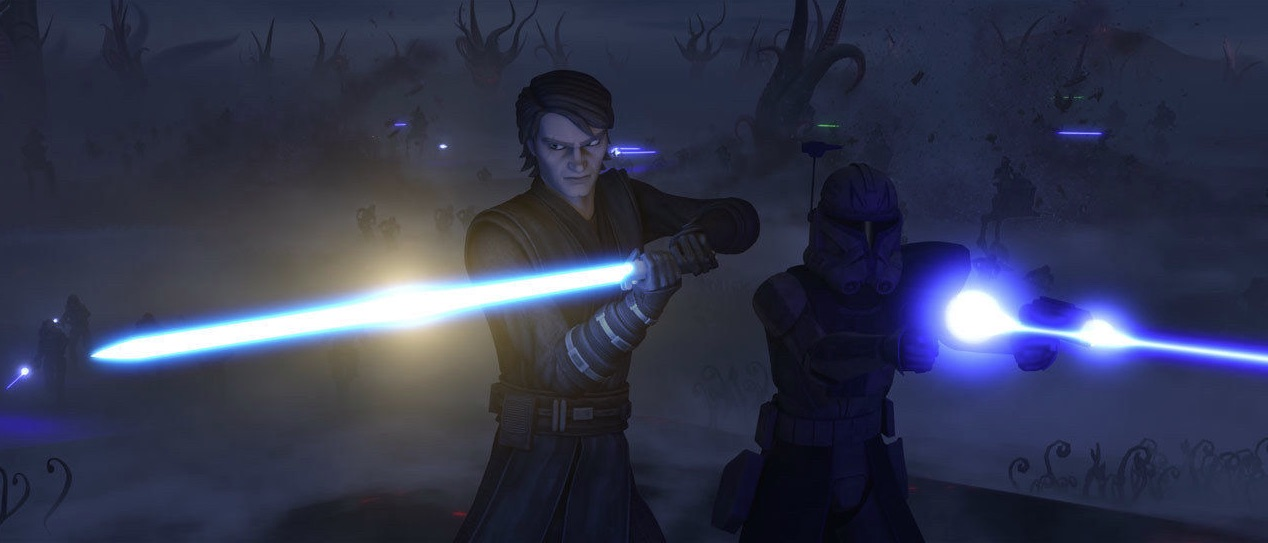 The Clone Wars - Anakin and Rex