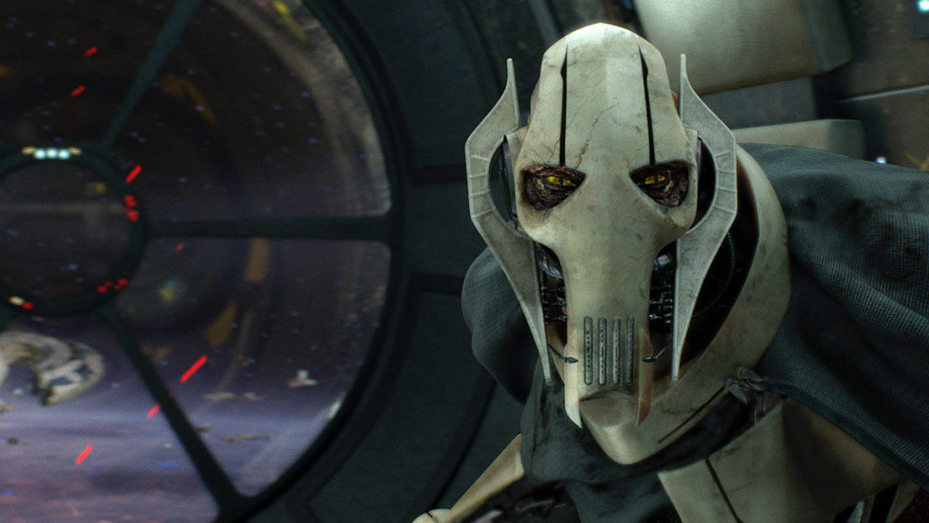 General Grievous in Star Wars: Revenge of the Sith.