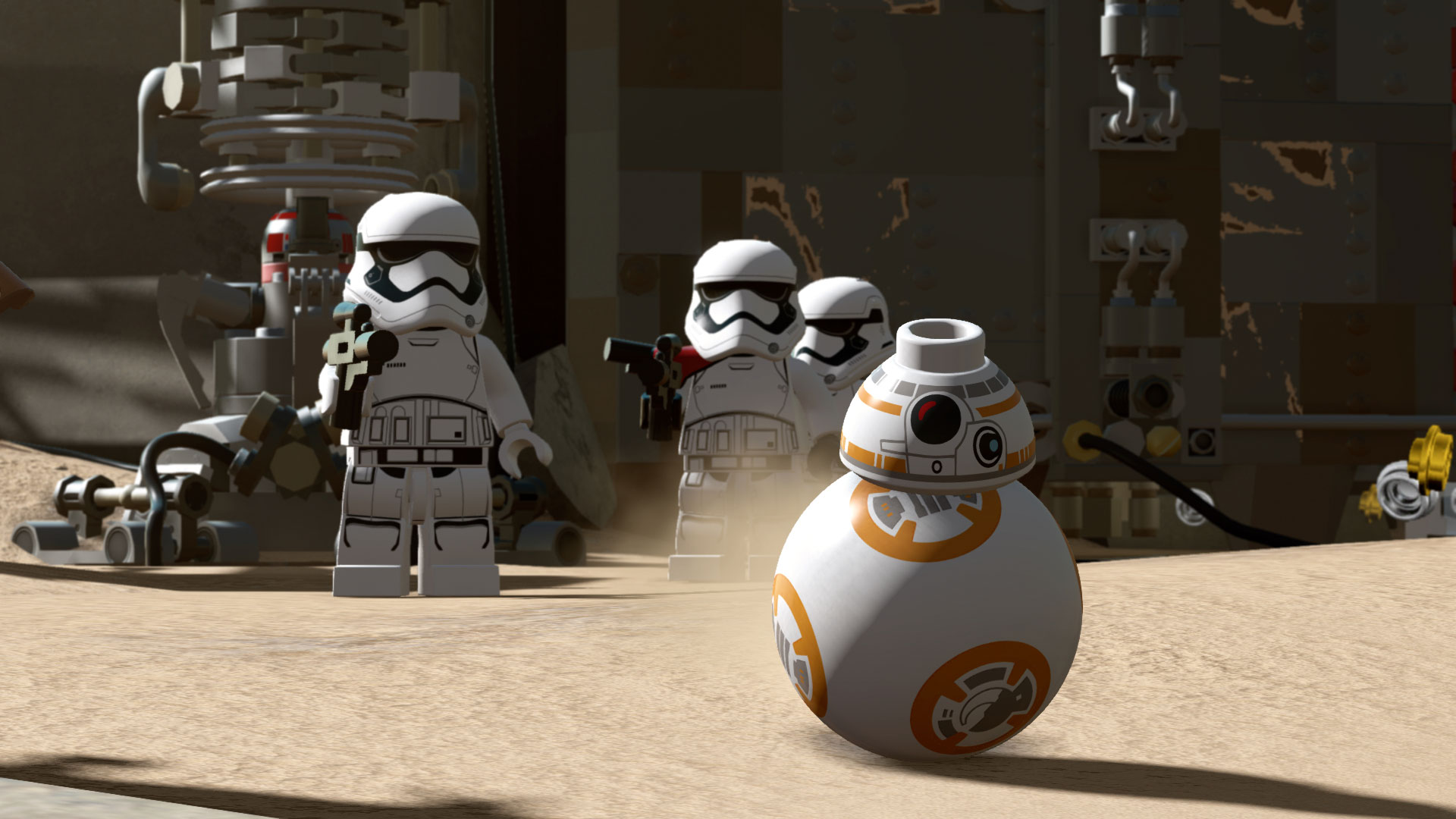 The Bricks Are Calling To You Inside Lego Star Wars The Force Awakens Starwars Com