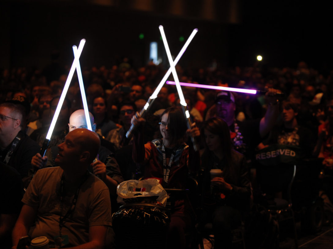 Star Wars Celebration fans