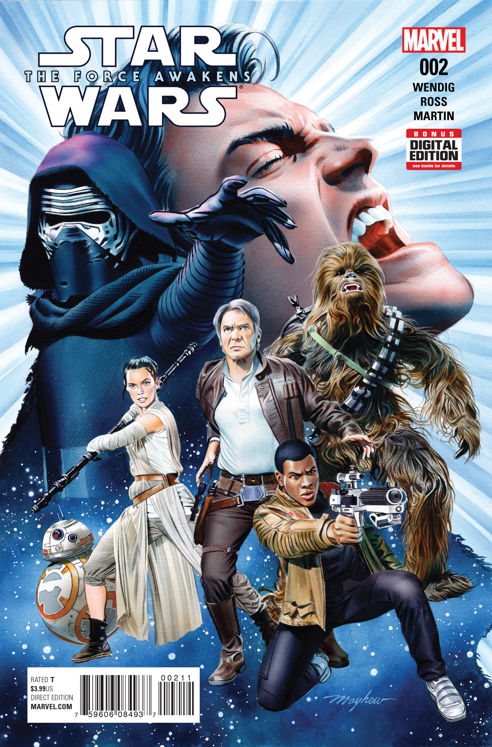 Comic Book Galaxy: Highlights from Star Wars: The Force Awakens #2 and More