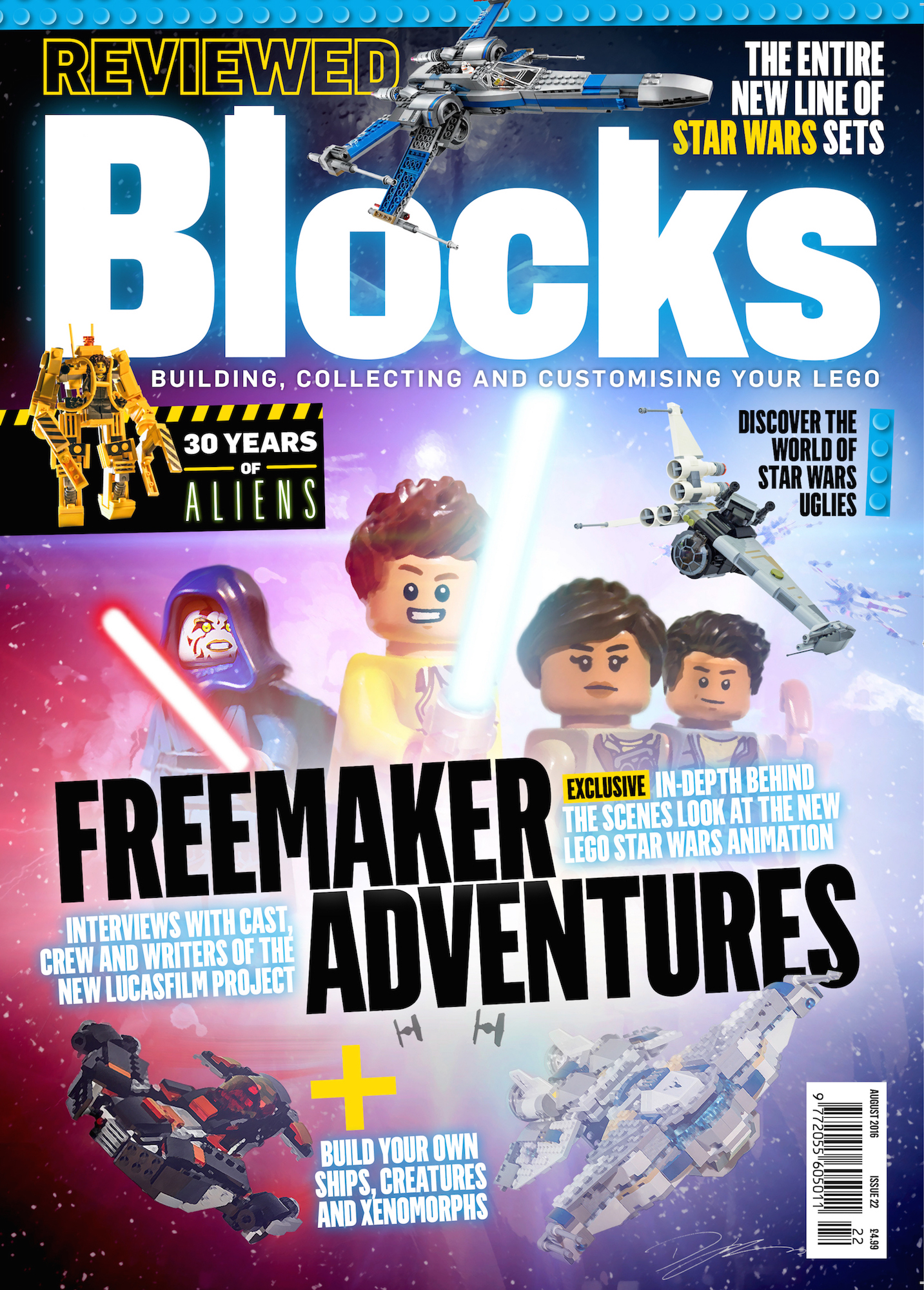 the building blocks of lego star wars the freemaker