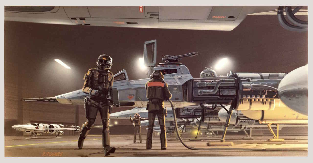 Ralph McQuarrie's Most Memorable Masterpieces