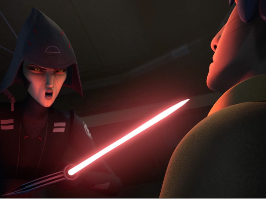 The Seventh Sister in Star Wars Rebels.