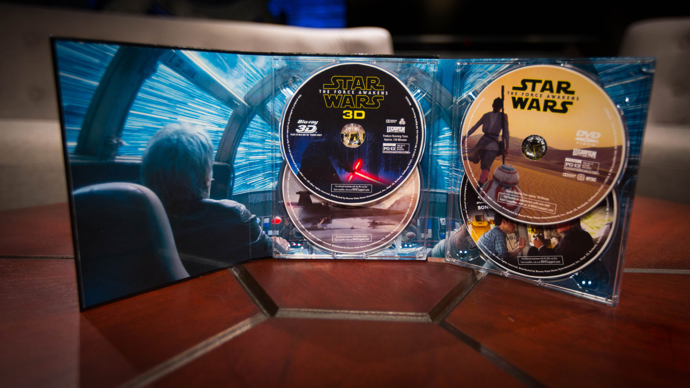 New star wars: the force awakens blu-ray/dvd coming, includes more.