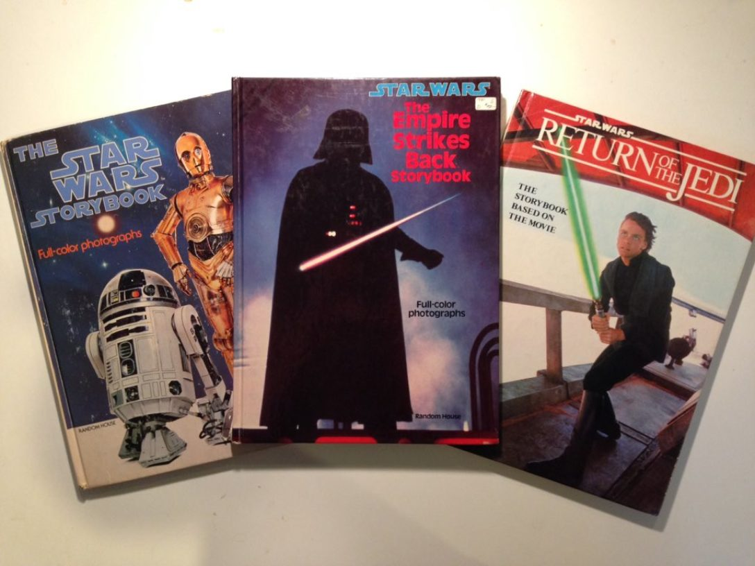 Star Wars storybooks