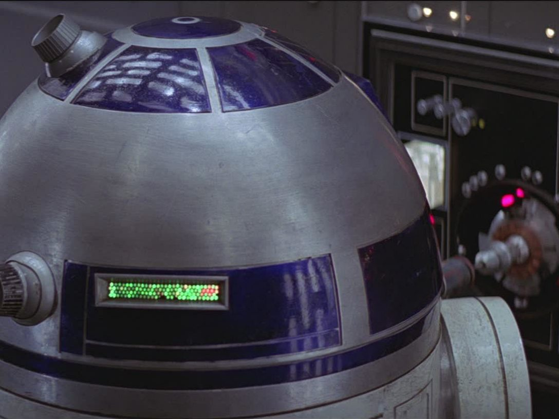 R2-D2 in A New Hope