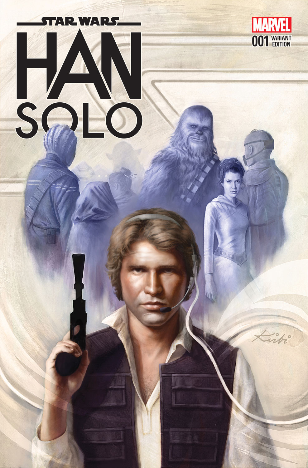 Solo: Comic Book Galaxy: Exclusive Han Solo #4 Cover Reveals And