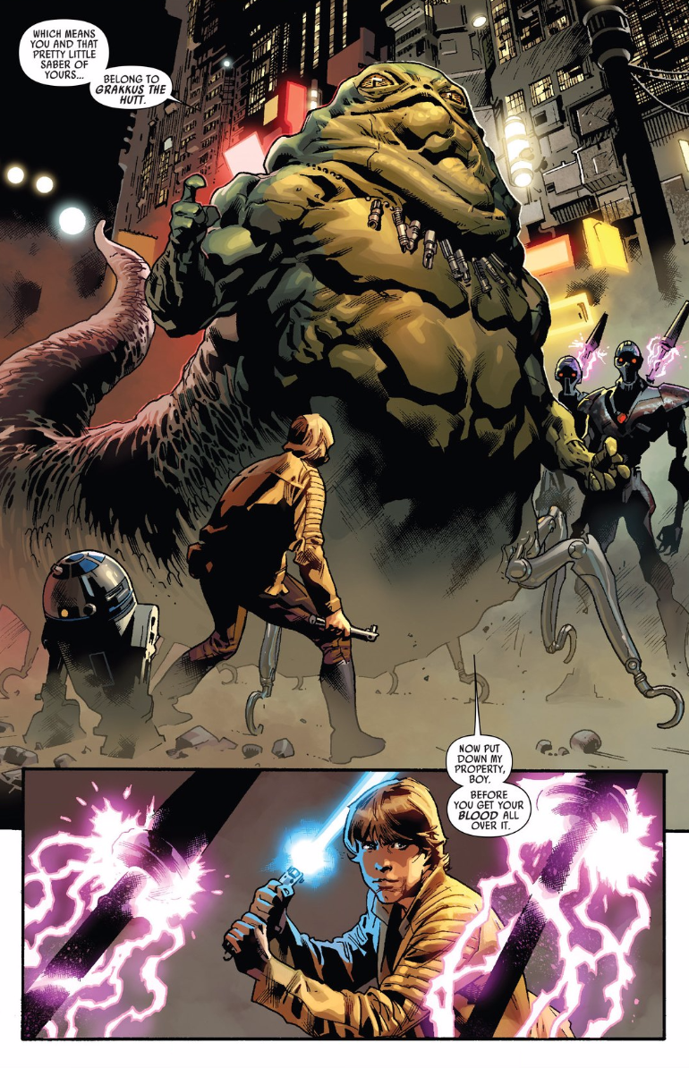 comic book galaxy the menace of grakkus the hutt and more