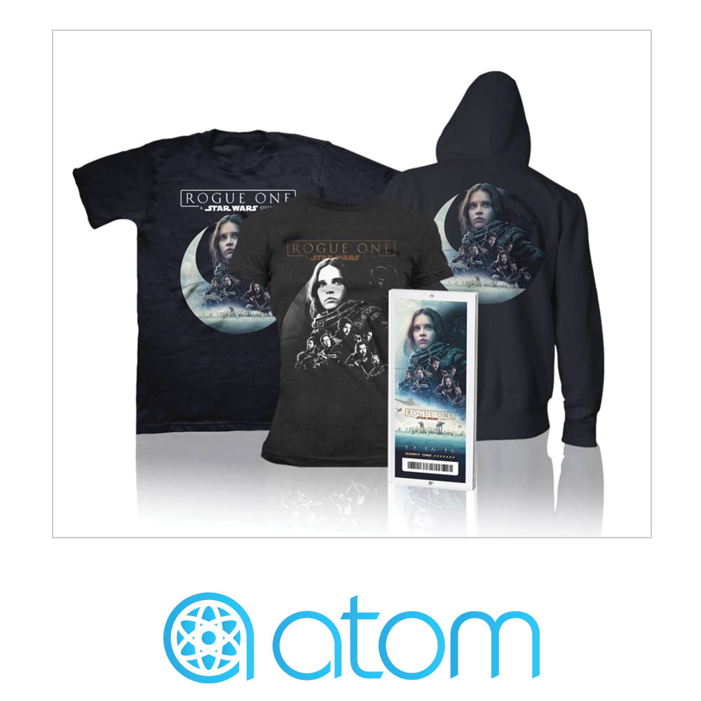 Rogue One Ticketing Exclusive - Atom