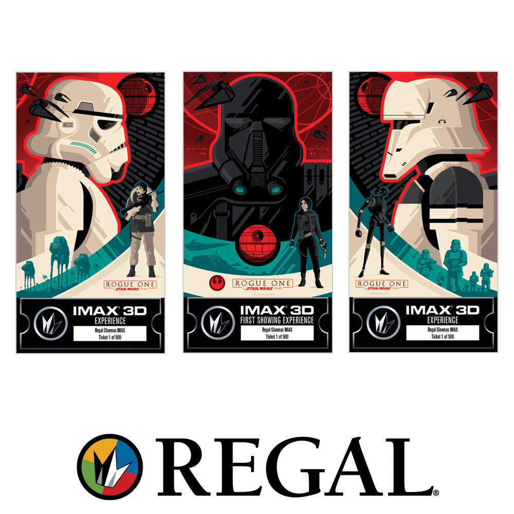 Rogue One Ticketing Exclusive - Regal