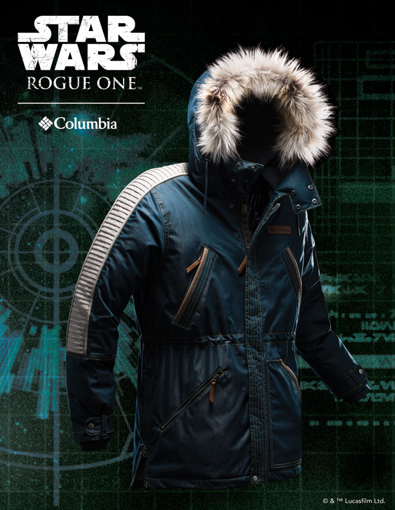 Behind the Seams of Columbia's Beautiful Rogue One Jackets ...