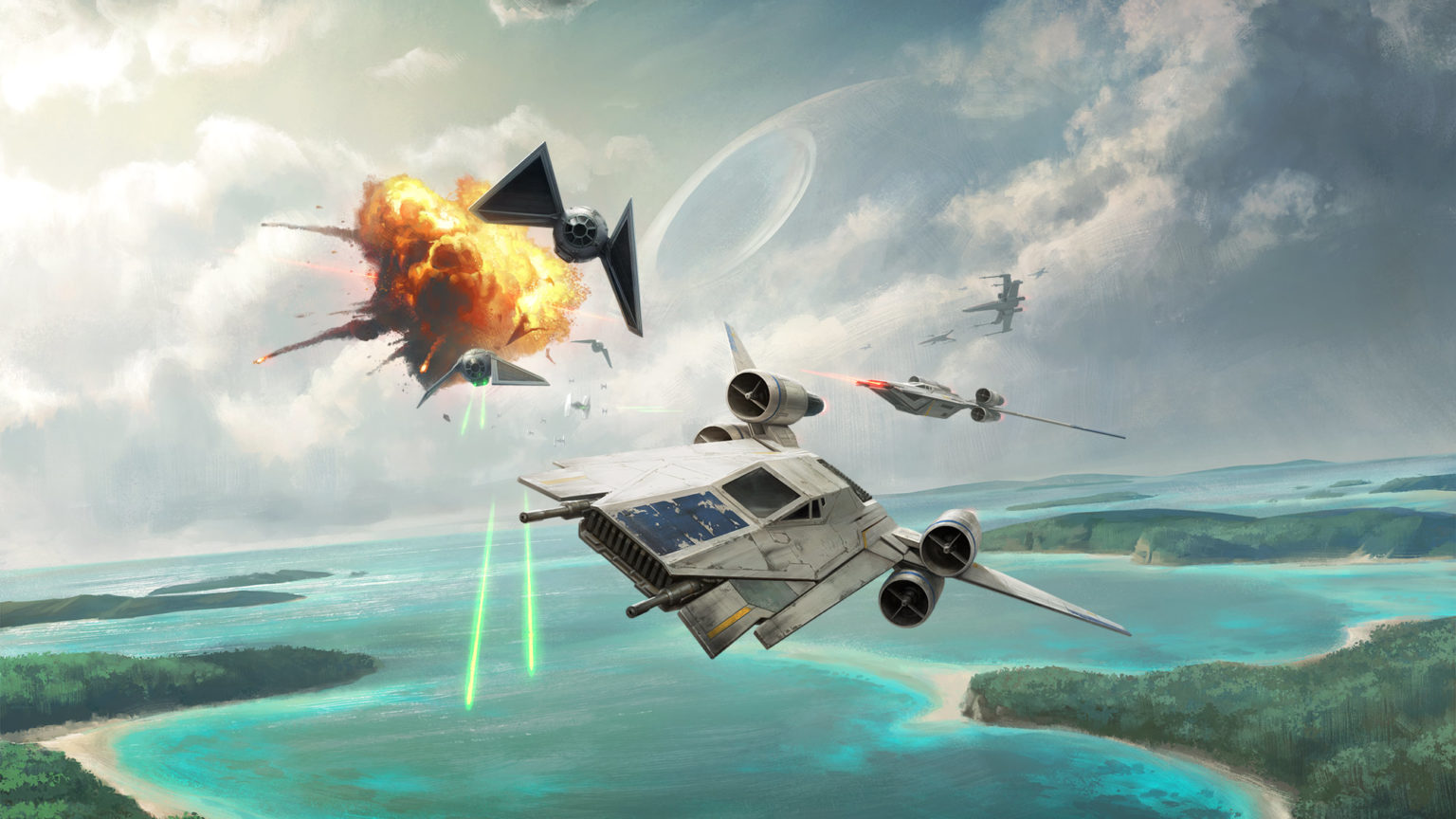 Rogue One Comes to FFG's X-Wing Miniatures Game   StarWars com