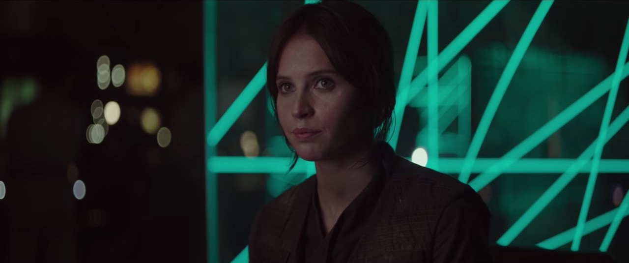 Jyn in Rogue One