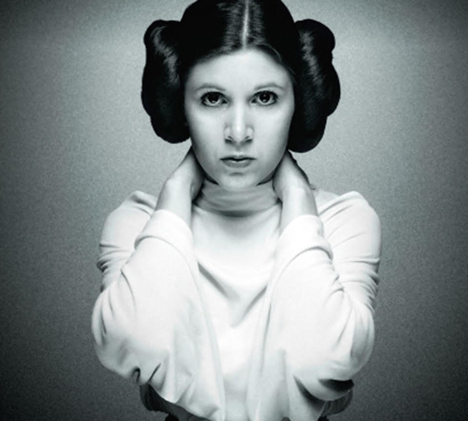 leia wars star fisher Carrie princess