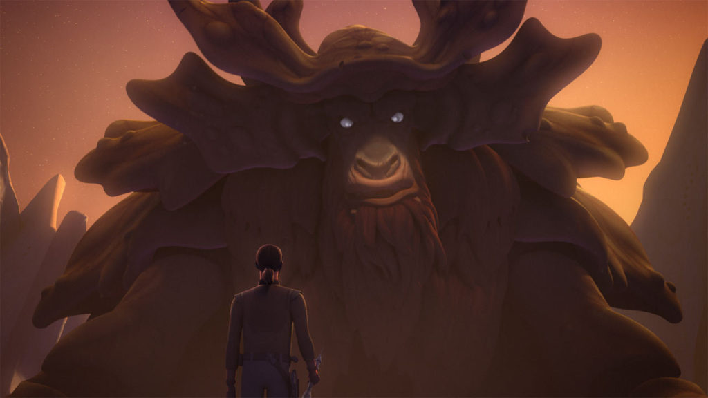 Kanan and the Bendu.