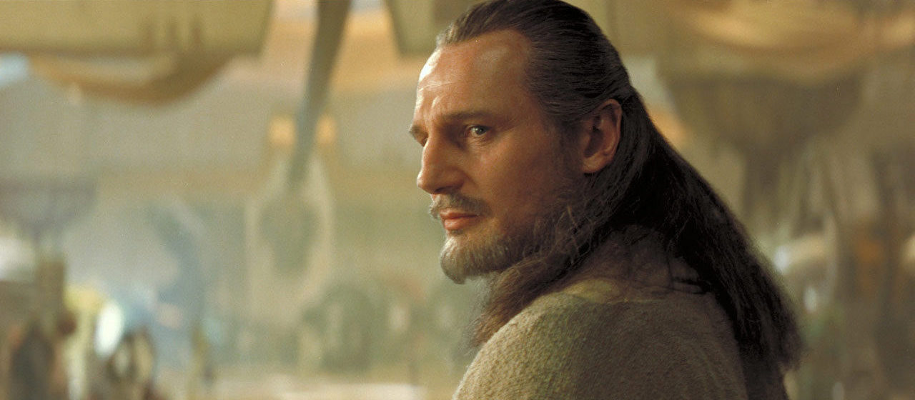 Qui-Gon Jinn on Tatooine.