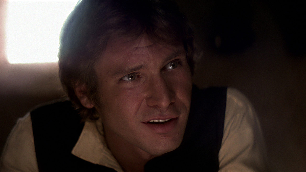 Han Solo in cantina