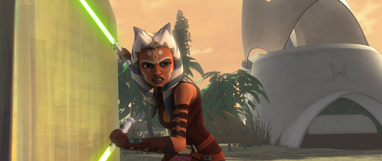 Ahsoka Tano in Star Wars: The Clone Wars