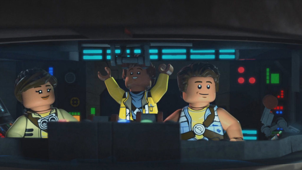 The Freemakers from LEGO Star Wars.