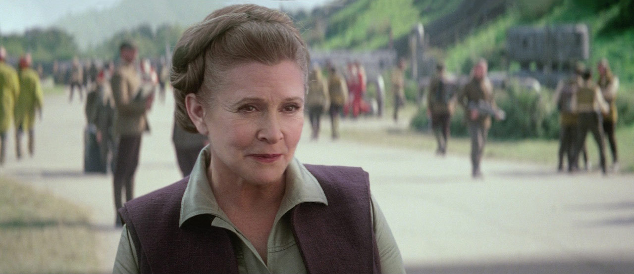 Image result for general leia the force awakens