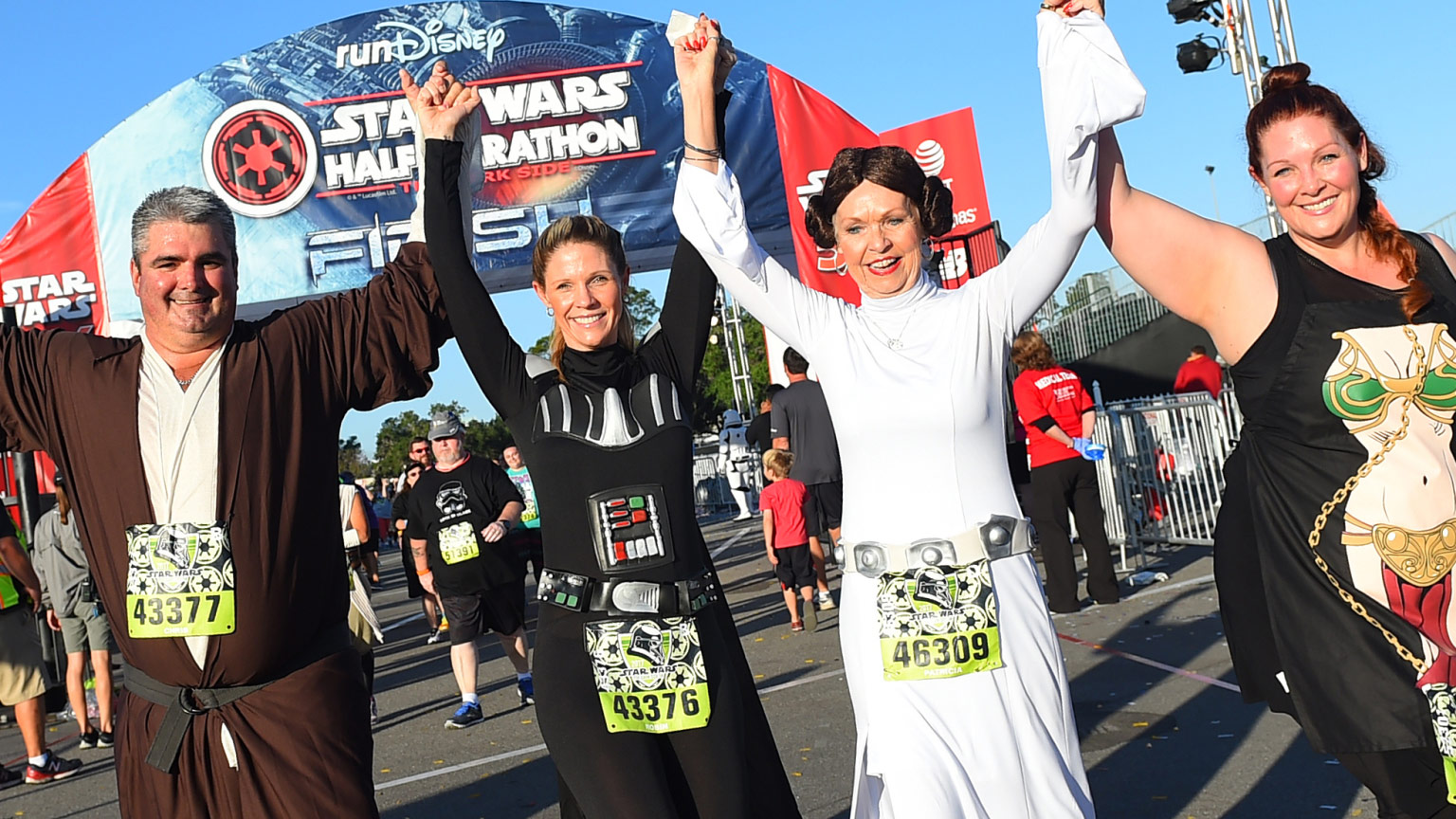 running with the force thanks to rundisney