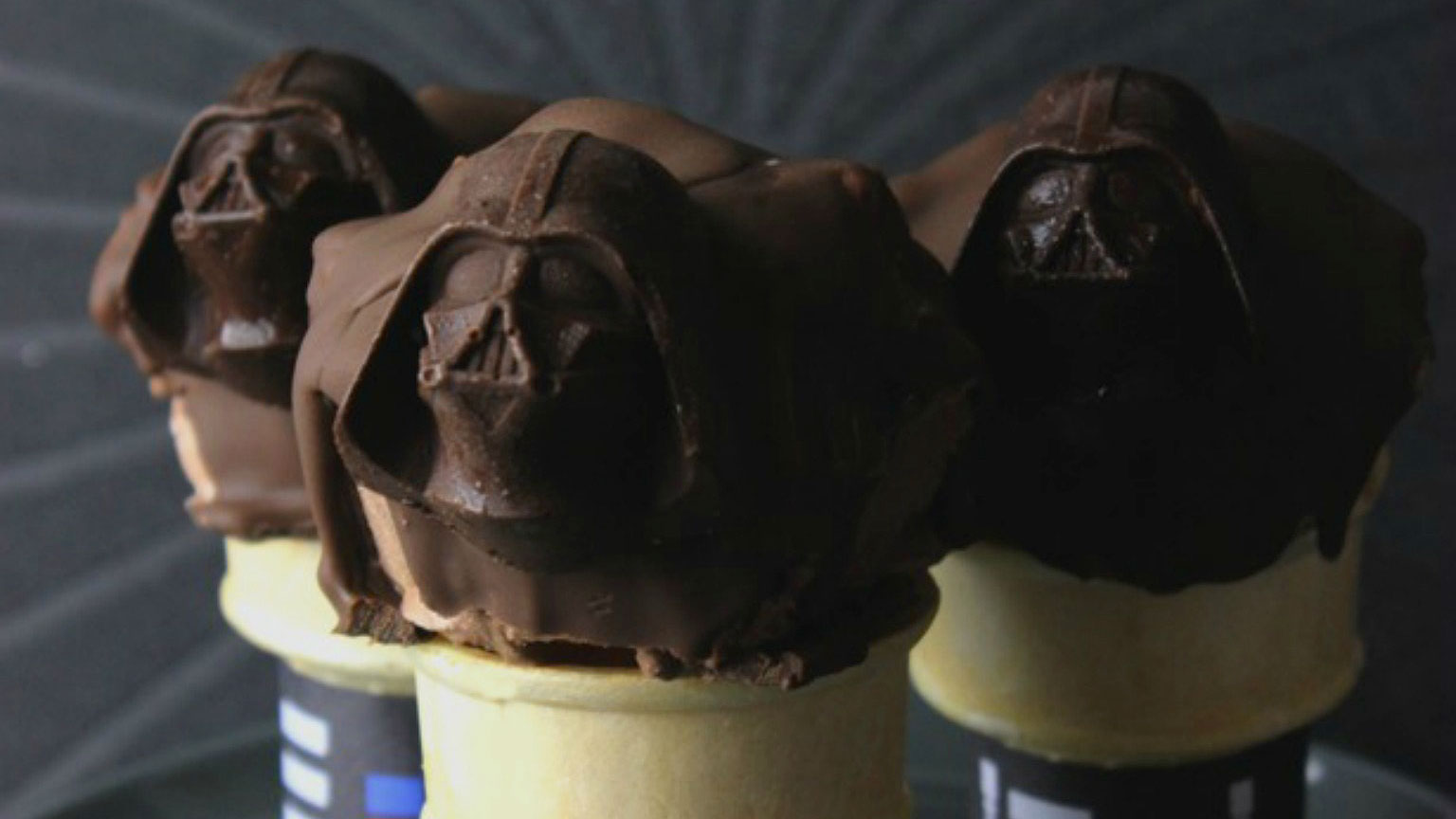 This Darth Chocolate Ice Cream Is Your Master Now