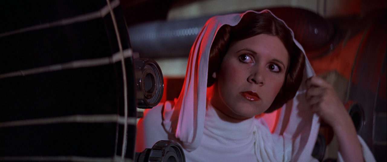Princess Leia in A New Hope
