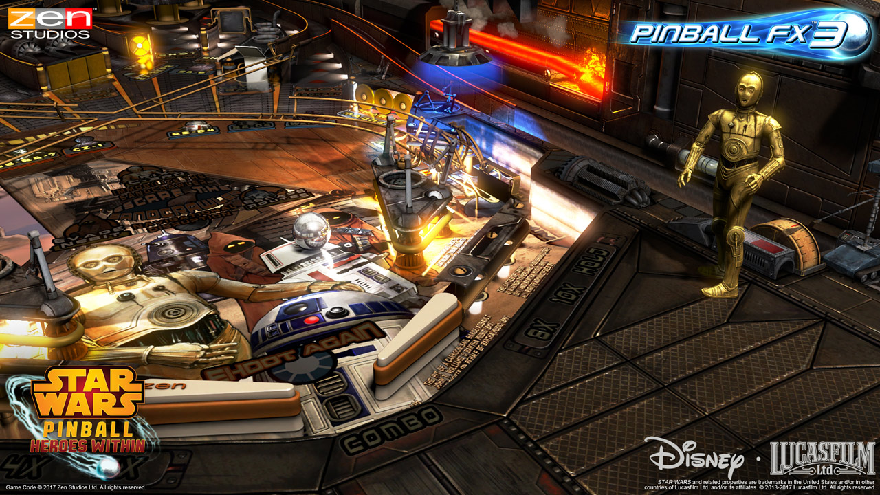 Star Wars Pinball Gets Some Special Modifications Thanks to