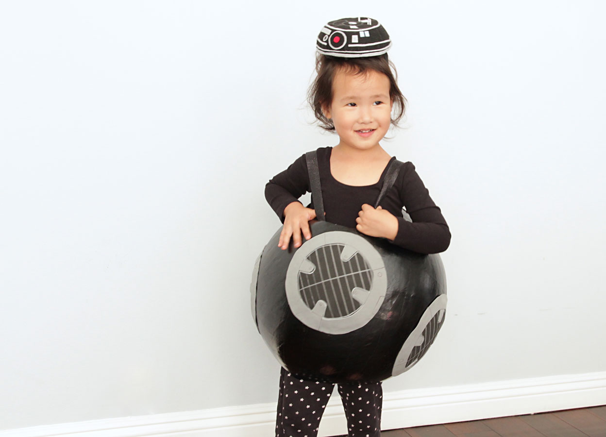 DIY Kids Star Wars Halloween Costumes: BB-9E and More | StarWars.com