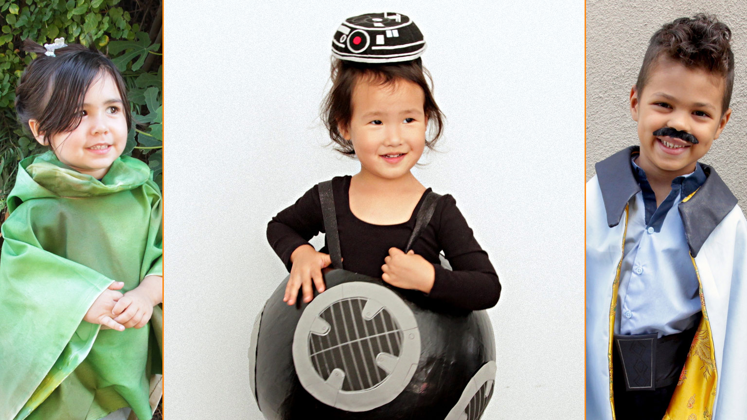 d00b66596 Trick-or-Star Wars Treat: Make The Last Jedi's BB-9E and More Kids'  Halloween Costumes