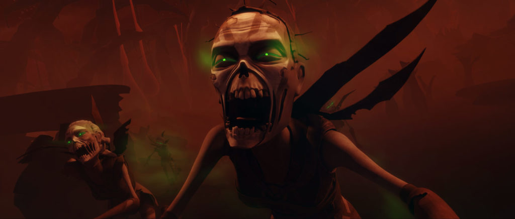 Nightsister zombies rise in Star Wars: The Clone Wars.