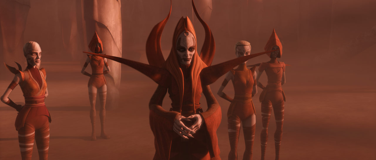 The Nightsisters and Mother Talzin in Star Wars: The Clone Wars.