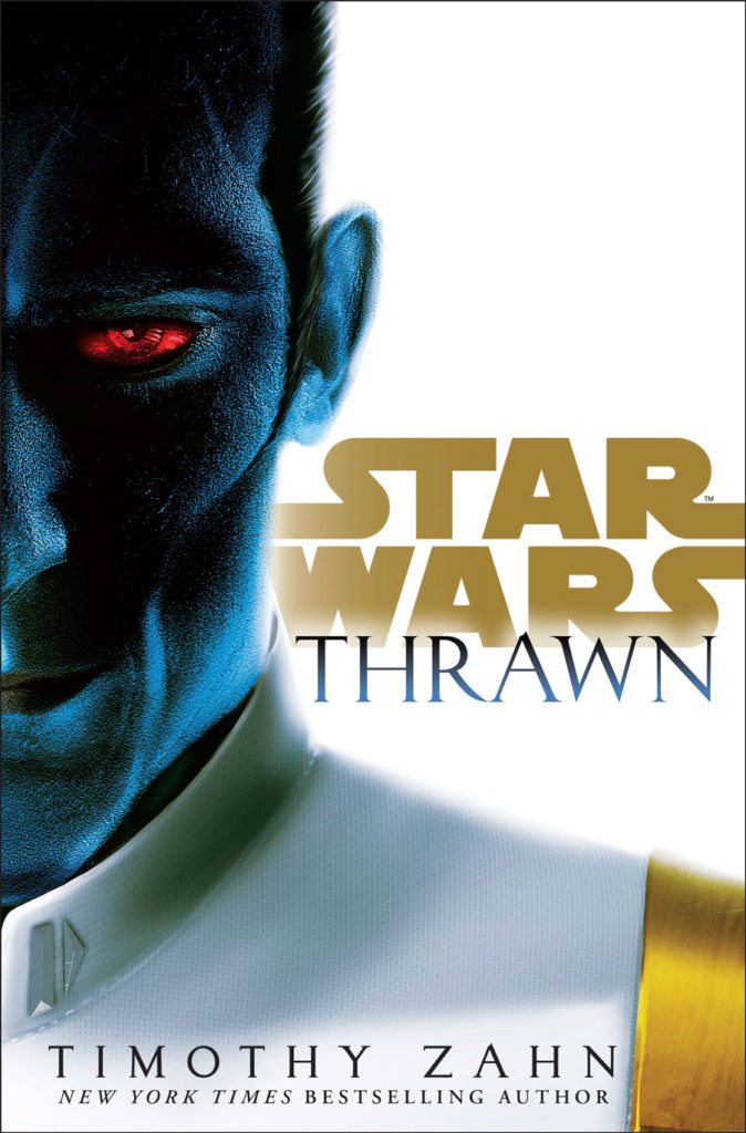 Star Wars Thrawn book cover