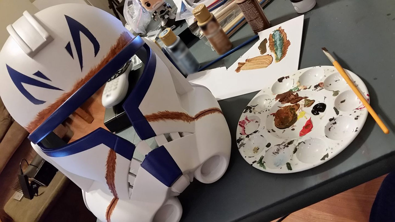 Completing her Captain Rex costume was a journey. Schram says her first kit took her almost two years and a lot of help from others. But phase two Rex? & Galactic Costuming: Emily Schramu0027s Cool Captain Rex Cosplay ...