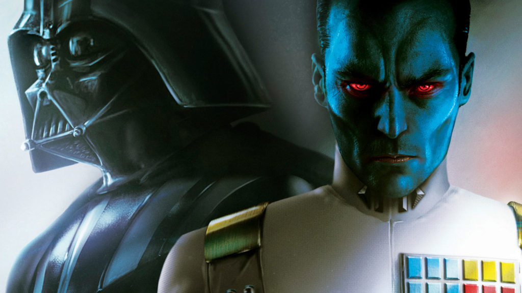 Grand Admiral Thrawn and Darth Vader