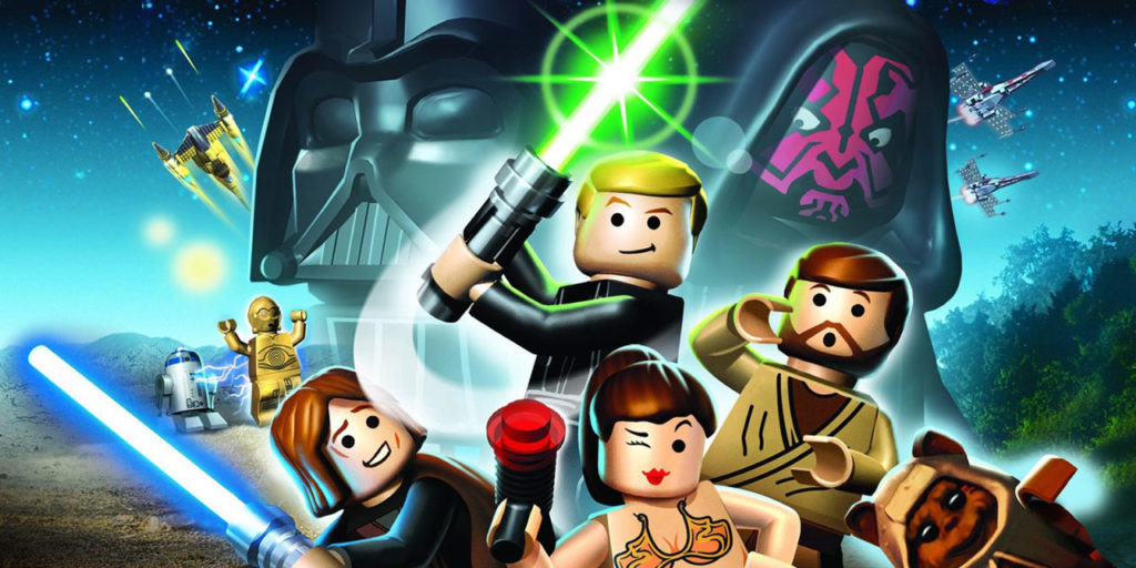 LEGO Star Wars: The Complete Saga key art.
