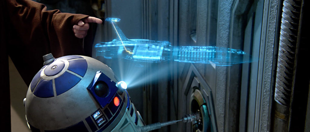 R2-D2 in Revenge of the Sith.