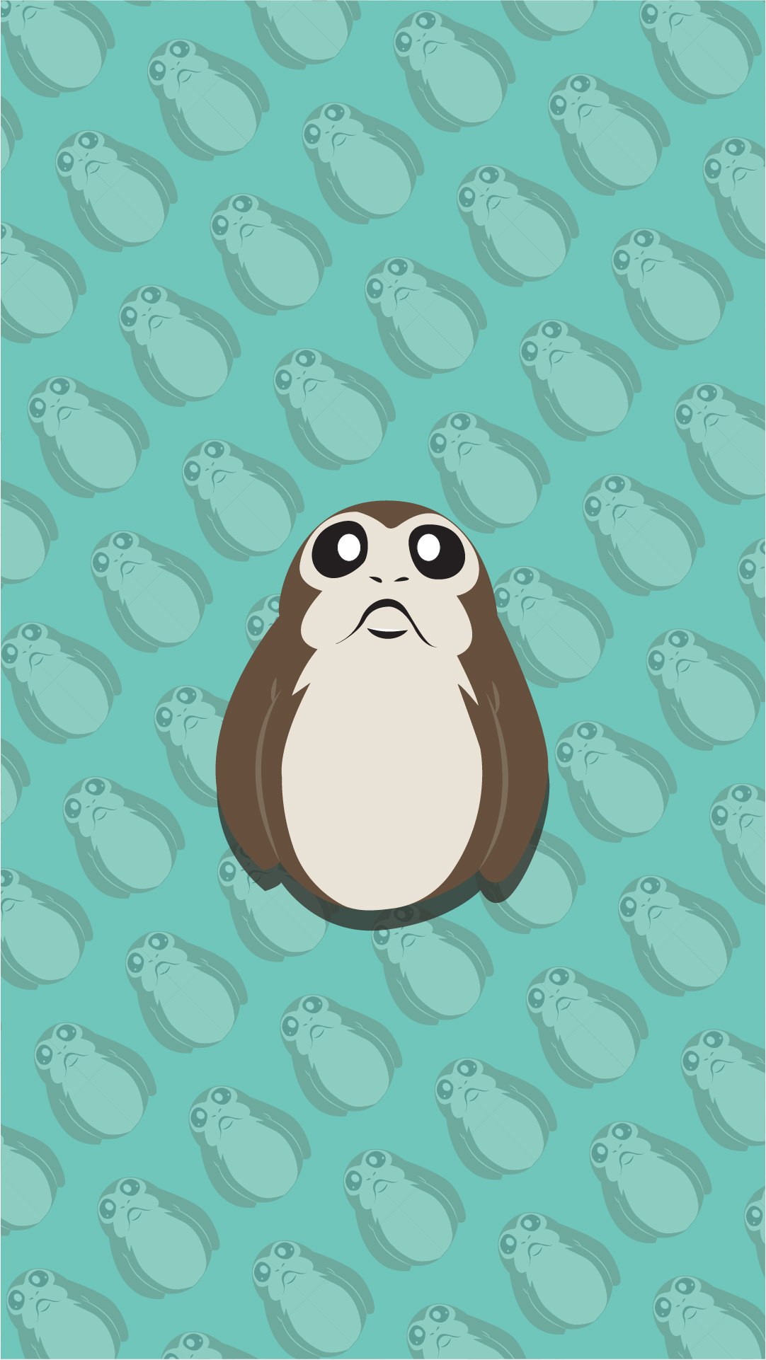 sw iphone wallpaper porg