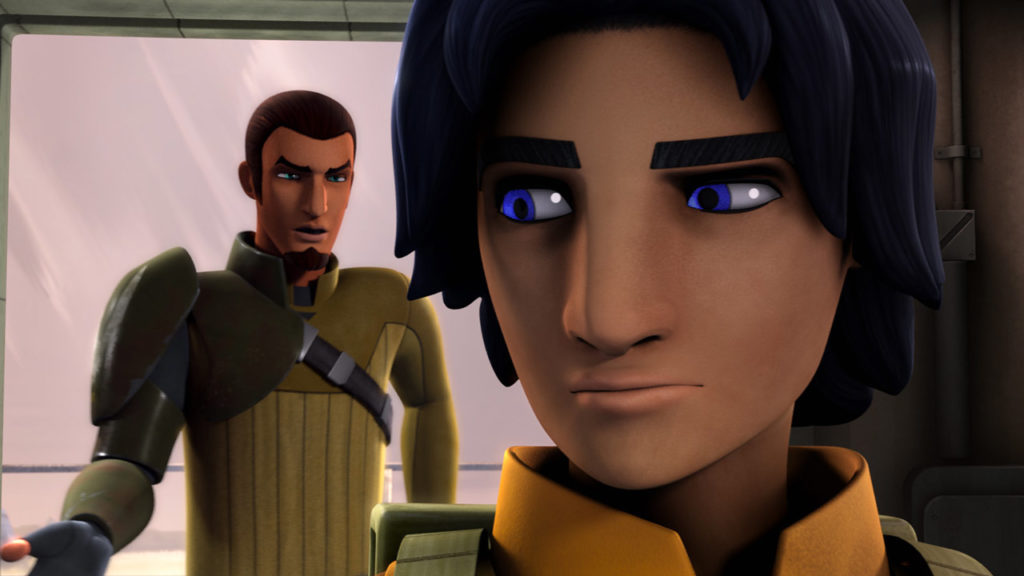 Kanan and Ezra in Star Wars Rebels.