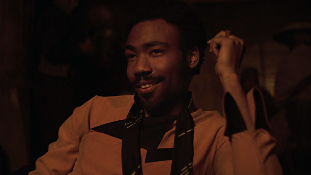 Lando Calrissian plays sabacc in Solo.
