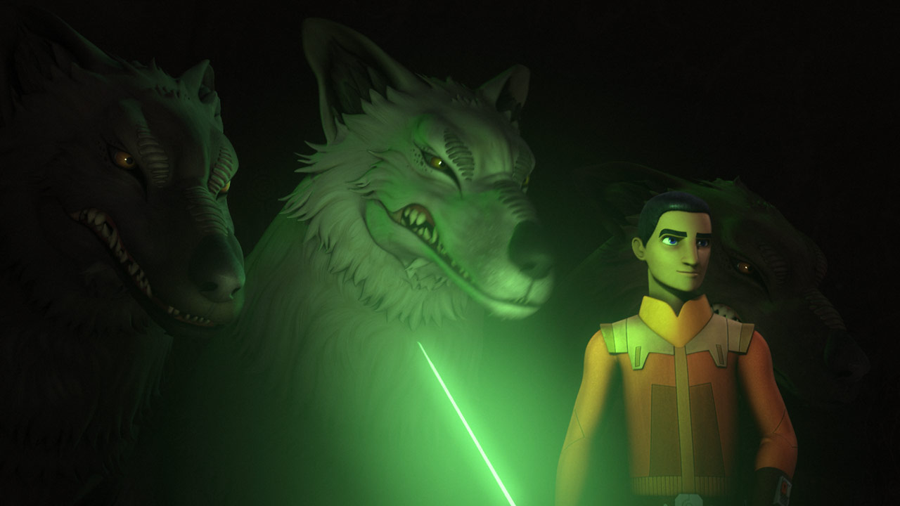 Loth-wolf from Rebels
