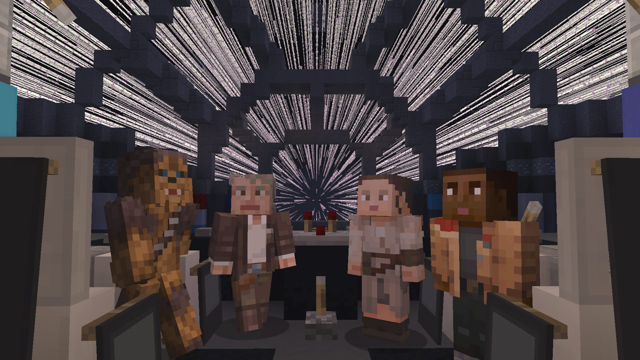 Minecraft Star Wars Sequel Skin Pack Artist Interview Starwars Com