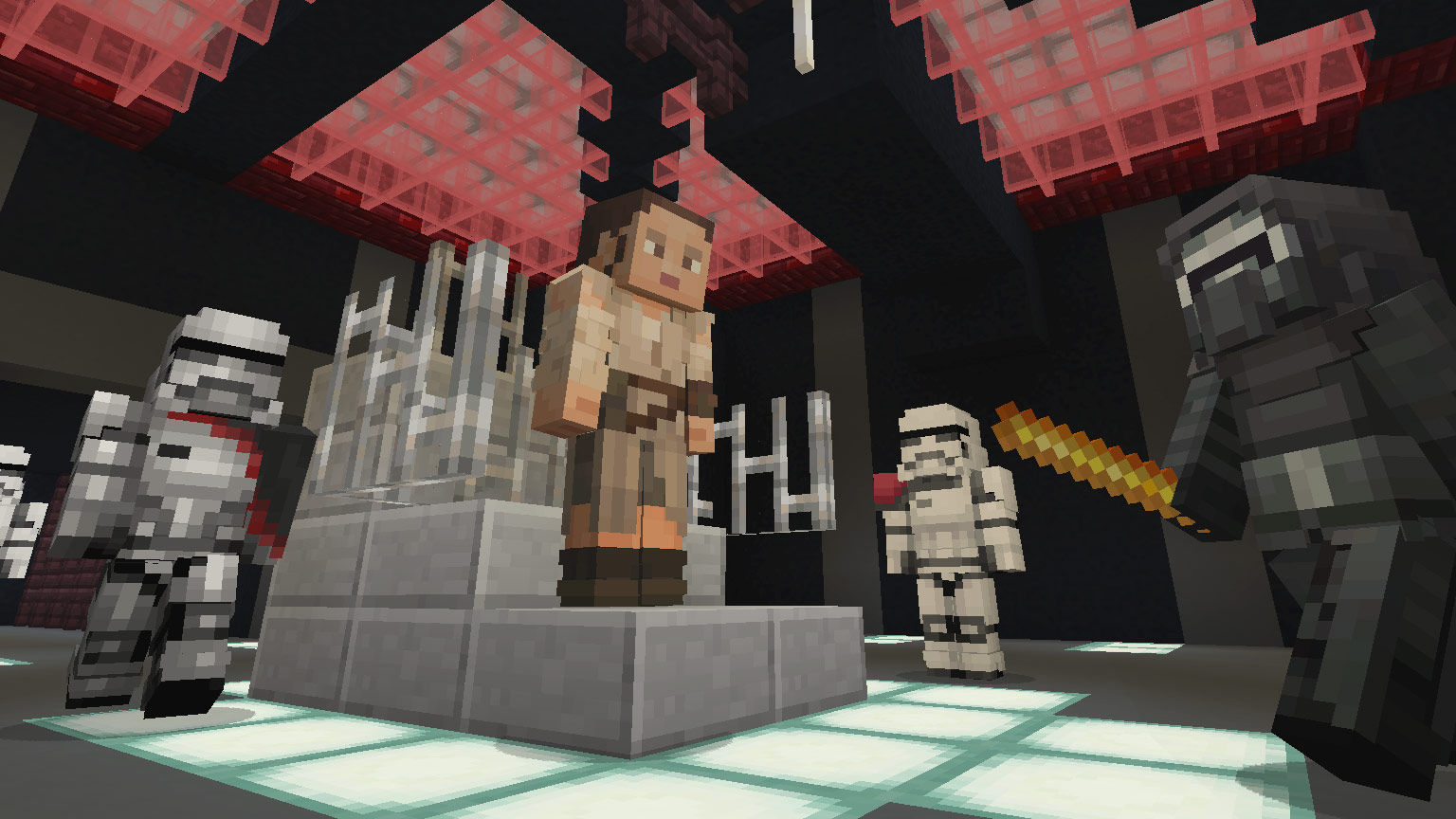 Minecraft Star Wars Sequel Skin Pack Artist Interview StarWarscom - Skin para minecraft pe rey