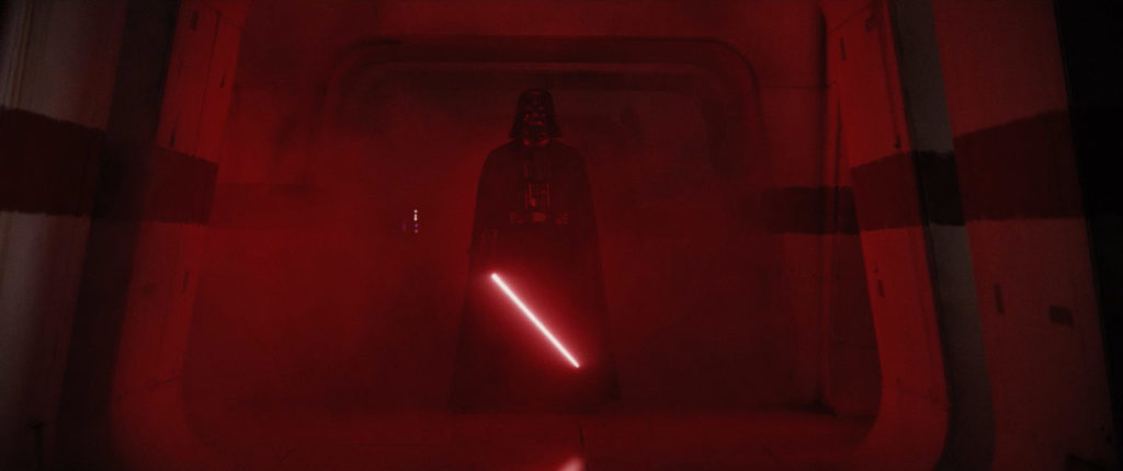 Darth Vader in Rogue One: A Star Wars Story.