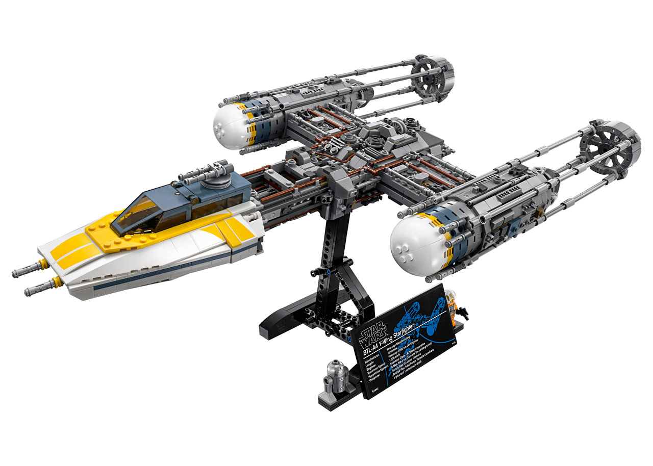 Lego star wars ucs y wing exclusive reveal - Image star wars lego ...